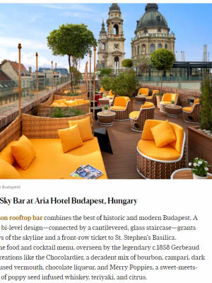 LHC-Aria Hotel Budapest-CNN Traveler