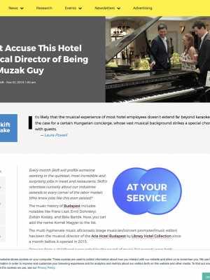 LHC-Aria Hotel Budapest-Skift