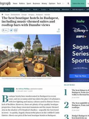 LHC-Aria Hotel Budapest-The Telegraph
