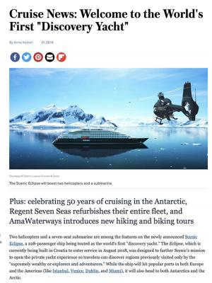 SE – Afar Cruise News