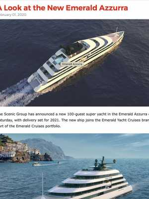 EYC – Cruise Industry News