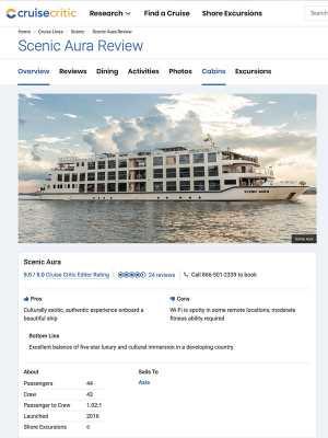 SC – Cruise Critic