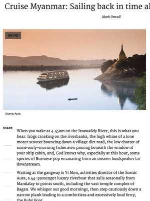 SC – Cruise Myanmar