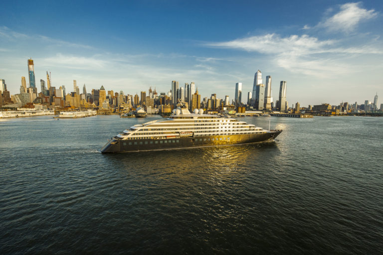 Scenic Eclipse Visits NYC